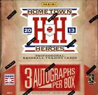 2013 PANINI HOMETOWN HEROES BASEBALL HOBBY 10 BOX CASE