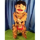 Sunny Toys GS4586 28 In American Native American Boy In Brown Costume Full