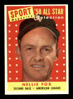 Nellie Fox Cards and Autographed Memorabilia Guide 8