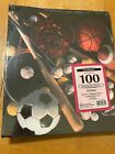 Deluxe Craft Scrapbook Albums Sports Theme 100 mounting pages NEW D18