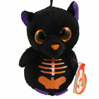 TY Halloweenie Beanie Baby - SCAREDY the Black Bat (3 inch) - MWMTs Halloween