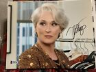 Beckett certified Meryl Streep signed photo Devil Wears Prada Death Becomes Her
