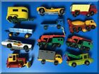 MATCHBOX LESNEY VINTAGE CONTEMPORARY LOT TRUCKS  CARS CONSTRUCTION FARM POLICE