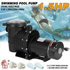 15HP In Ground Swimming Pool Pump Motor Strainer Replacement Hayward