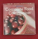 Weight Watchers Complete Food Companion 2009 Edition Over 18400 Foods