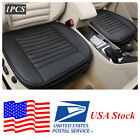 1x Universal 5 Seats Car Cover Seat Cover PU Leather Bamboo charcoal USA Stock