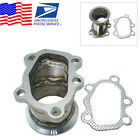 For GT25 GT28 T25 T28 Turbo Down Pipe 5 Bolt to 25 63mm V band Flange Adapter