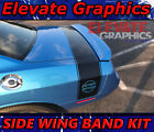 For Dodge Challenger Side Wing Band Graphics Vinyl Stripes Decals Stickers 15-20