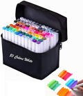 Alcohol Markers Set alcohol marker Dual Tips art supplies copic markers 80 Color