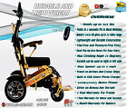 Foldable Electric Wheelchair Lightweight Heavy Duty Durable Power WheelChair