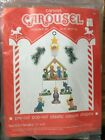 Nativity Mobile Kit Leisure Arts Plastic Canvas Carousel Dick Martin Xmas Vtg 83