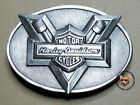 Harley Davidson 1983 Bar  Shield with Pistons Belt Buckle 80th Anniversary