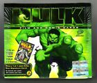 THE HULK FILM AND COMIC CARDS FACTORY SEALED BOX