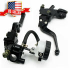 7/8'' Motorcycle Front Brake Clutch Master Cylinder Reservoir Lever Black US