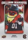2012 Upper Deck Football College Mascots Patch Card Guide 58