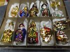 INGE GLASS 12 PIECE NATIVITY SET SILENT NIGHT HOLY NIGHT