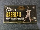 2012 Topps Heritage Baseball factory sealed hobby box