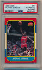 1986 Fleer Michael Jordan RC PSA Authentic Altered 605821