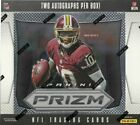 2012 Prizm Football Hobby Box 2 AUTOS Russell Wilson RC ?? Free Shipping