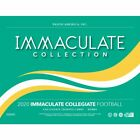 2020 PANINI IMMACULATE COLLEGIATE FOOTBALL - FACTORY SEALED HOBBY BOX - PRE SALE