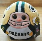 Green Bay Packers Official NFL TY Beanie Ballz Plush & Beanie Ballz Clip Plush