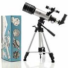 SkySpy 70mm Refractor Telescope with Extra Long Sturdy Tripod amp Finder