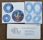 New Creative Memories OVAL CIRCLE 12 STRAIGHT WAVY SWELL custom cutting system