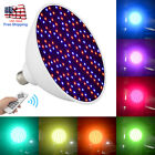7 Color 45W 252LED 120V RGB Underwater Swimming Pool Light Lamp+Remote Control
