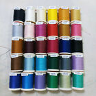 Sewing Thai Polyester V Spun Thread Tube Quilting Multi Colors 1 Lot  12 Pieces