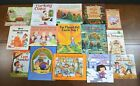 Lot 15 THANKSGIVING THEMED Childrens Picture Books Native Americans Pilgrims N10