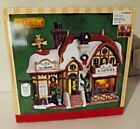 Lemax Porcelain Lighted Building Christmas Village Devaney's Bakery in Box