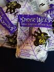 32 Bags 60 Square Ft per bag Stretchy Spider Web Halloween Haunted House