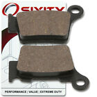 Rear Ceramic Brake Pads 2007 KTM 525 XC-G Set Full Kit Desert Racing Complet cw