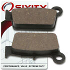 Rear Ceramic Brake Pads 2005-2008 Beta RR 250 Set Full Kit 4T Complete vj