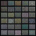 30 Sheets Nail Art 3D Stickers Flowers Design Manicure Tips Decal Decorations