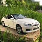 BMW M6 Coupe Model Car 124 White  Grey Collection Front Steering Alloy Diecast