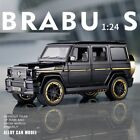 Brabus 800 4x4 SUV 124 Scale Wagon Diecast Model Car For Mercedes Benz G65 AMG