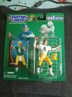 STARTING LINEUP 1998 EDITION BRETT FAVRE FIGURE AND CARD GREEN BAY PACKERS VTG