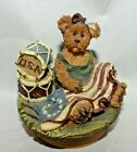 Estate=Americana Decor Boyd Bear Candle Topper, Not Perfect but still adorable