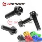 CNC Brake Master Cylinder Bolts Set For Aprilia RSV 1000 R 03-08 R Factory 06-08