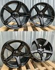 20 Inch Gloss Black Wheels 20x95 20x105 Fits Dodge Charger Challenger Set 4
