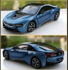 124 BMW i8 Model Cars Diecast Alloy Toy Vehicles Model Boys and Girls Toys