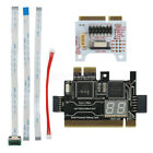TL611 Pro LPC DEBUG Test Card + 2 Adapters LPC Debug Post Card Set