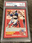 Thurman Thomas Cards, Rookie Cards and Autographed Memorabilia Guide 36