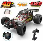 4WD 118 Scale RC Car High Speed Car 30+ MPH 4WD Off Road Trucks 2 Battery New