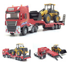 Diecast 150 Alloy Loader Forklift Semitrail Model Engineering Vehicle Toy Gift