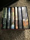 The Mortal Instruments Clare 6 book Hardcover Box Set City of Bones Ashes Glass