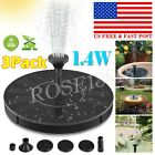 Solar Powered Fountain Water Pump Floating for Garden Bird Bath Kit Pond Pool US