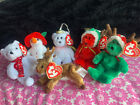 TY Jingle Beanie Babies - Holiday 2005 Complete set of 6 (Yummy, Gifts, Goody++)