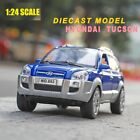 124 Diecast For Hyundai Tucson Model Car Metal Toy Vehicle Collection Kids Gift